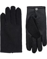 BOSS Suede Gloves - Black