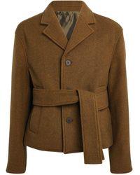 WOOYOUNGMI Wool-blend Jacket - Green