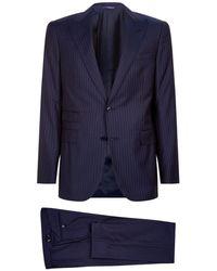 Ralph Lauren Purple Label - Pinstripe Wool Suit - Lyst