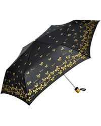 Harrods - Gold Bow Umbrella - Lyst