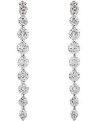 Anita Ko - Cascade Diamond Earrings - Lyst