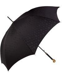 Alexander McQueen Swarovski-embellished Skull Umbrella - Black