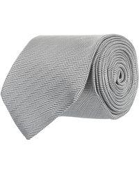 Eton of Sweden   Diagonal Herringbone Tie   Lyst