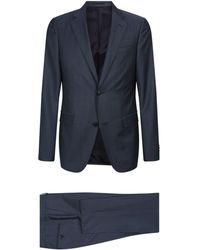 Z Zegna - Wool-mohair Two-piece Suit - Lyst