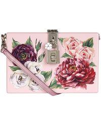 Dolce & Gabbana - Peony Box Clutch - Lyst