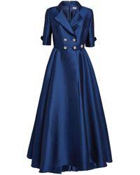Alexis Mabille Tuxedo Gown - Blue