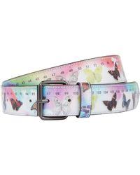 Vetements - Butterfly Hologram Belt - Lyst