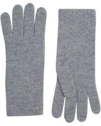 Harrods Cashmere Gloves - Grey