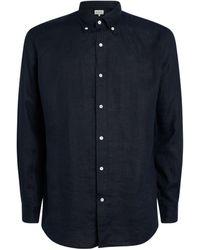 BLUEMINT Linen Martin Shirt - Blue