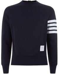Thom Browne - Engineered Striped Sweatshirt - Lyst