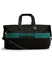 BOSS - Contrast Logo Travel Bag - Lyst