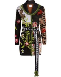 Hayley Menzies Enchanted Leopard Cardigan - Multicolour