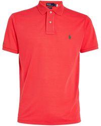Polo Ralph Lauren - Mesh Custom-fit Polo Shirt - Lyst