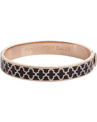 Halcyon Days - Rose Gold Agama Bangle - Lyst