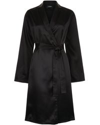 La Perla - Short Silk Robe - Lyst