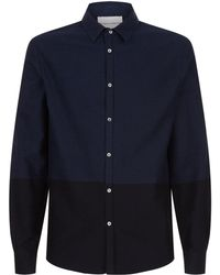 Stephan Schneider Colour Block Shirt - Blue