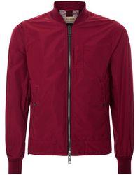 Burberry | Bomber Jacket, Pink, It 46 | Lyst