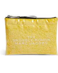 Marc Jacobs The The Snuggle Pouch Cosmetics Bag - Yellow