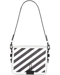 Off-White c/o Virgil Abloh - Stripe Binder Clip Shoulder Bag - Lyst