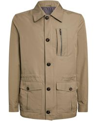 Pal Zileri Shirt Jacket - Natural