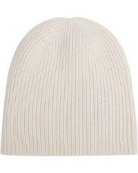 JOSEPH Wool-cashmere Knit Hat - White