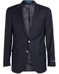 Polo Ralph Lauren Wool Blazer - Blue