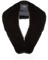 Harrods | Large Fox Fur Roll Collar | Lyst