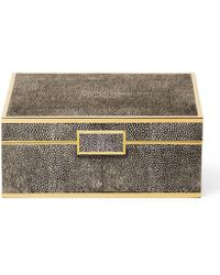 Aerin - Shagreen Small Jewellery Box - Lyst