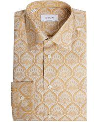 Eton of Sweden Contemporary-fit Shirt - Metallic
