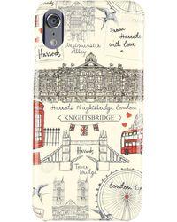 Harrods Sketched London Iphone 8 Case - Multicolour
