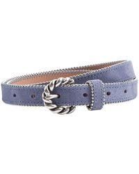 Sandro - Jane Suede Leather Belt - Lyst