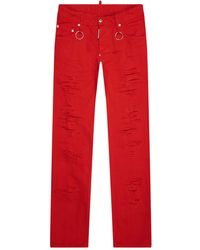 DSquared² - Skater Ripped Knee Jeans - Lyst
