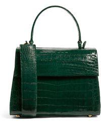 Nancy Gonzalez Small Crocodile Lexi Top-handle Bag - Green