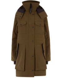 d28d078607d Canada Goose Gabriola Feather And Shell-down Parka Coat in Black - Lyst