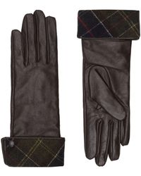 Barbour Lady Jane Leather Gloves - White