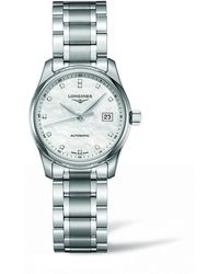 Longines Stainless Steel Master Collection Watch 29mm - White