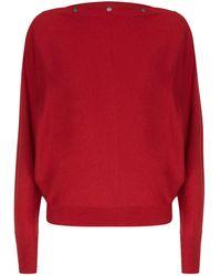 AllSaints | Elle Boat Neck Sweater | Lyst