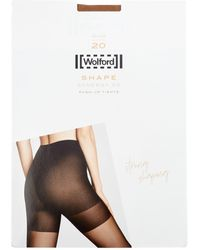 Wolford Synergy 20 Push-up Tights - White