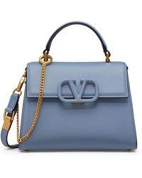 Valentino Garavani Garavani Small Vsling Top-handle Bag - Blue