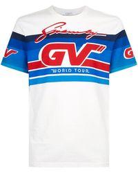 Givenchy - Motocross Logo Printed T-shirt - Lyst