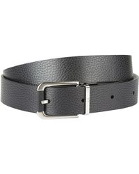 Dunhill - Reversible Grain Leather Belt - Lyst