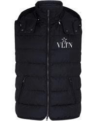 Valentino Vltnstar Down Gilet - Black