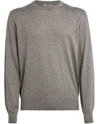 Corneliani Cotton-blend Sweatshirt - Grey