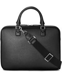 Montblanc Leather Sartorial Ultra Slim Document Holder - Black