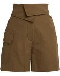 KENZO Utility Shorts - Natural