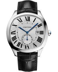 Cartier - Stainless Steel Drive De Watch 40mm - Lyst
