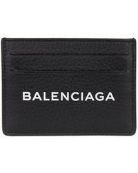 Balenciaga - Logo-printed Card Case - Lyst