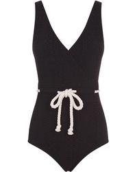Lisa Marie Fernandez - Rope Belt Swimsuit - Lyst