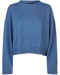Theory - Cropped Cashmeresweater - Lyst