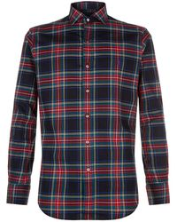 Ralph Lauren - Slim Fit Tartan Shirt - Lyst